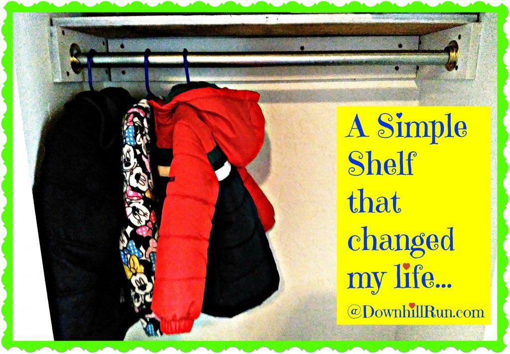 Simple shelf changed life