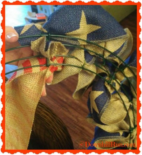 4th of July patriotic wreath 11