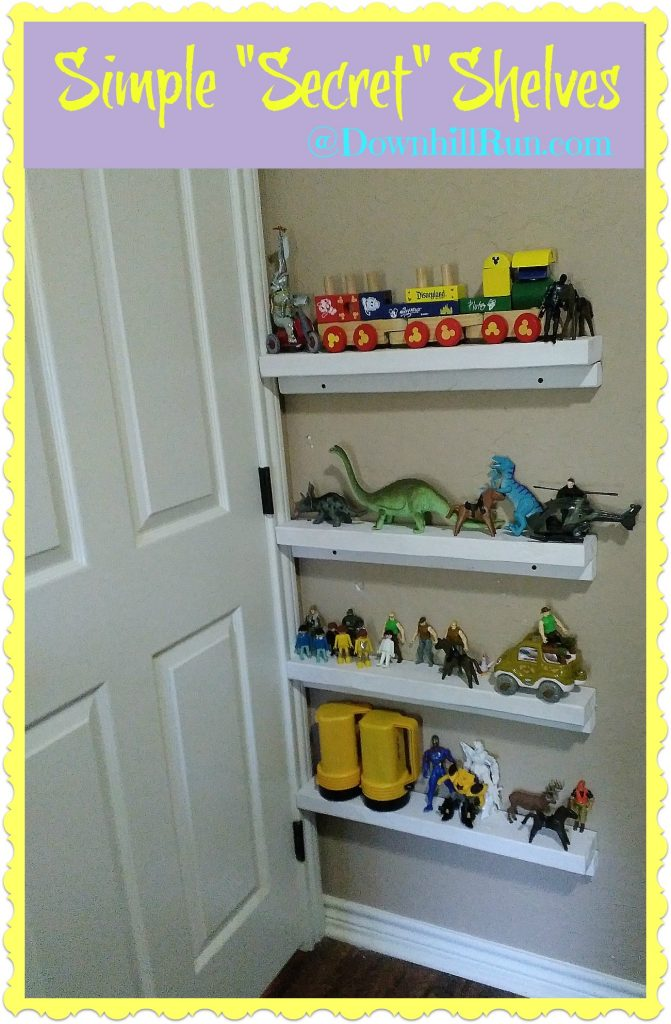 Simple Secret Shelves