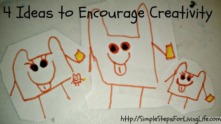 Ideas to encourage creativity