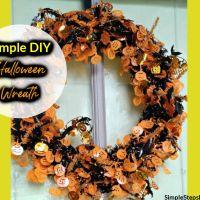 Simple Halloween Wreath How-To