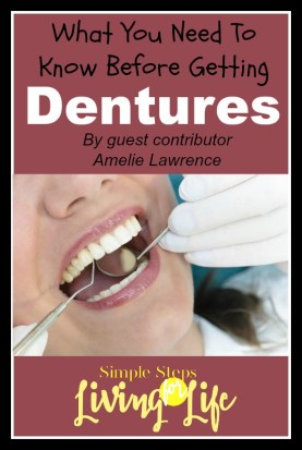 What you need to know before getting dentures