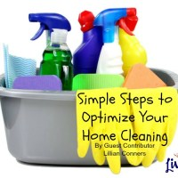 Simple Steps to Optimize Your Home Cleaning