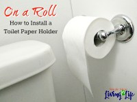 Installing Toilet Paper Holder #619696893  T3amlat