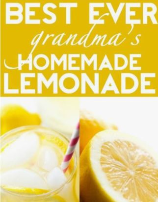 Foodie Friday Roundup:  Delicious Lemonade