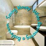 Saving Money When Renovating a Bathroom