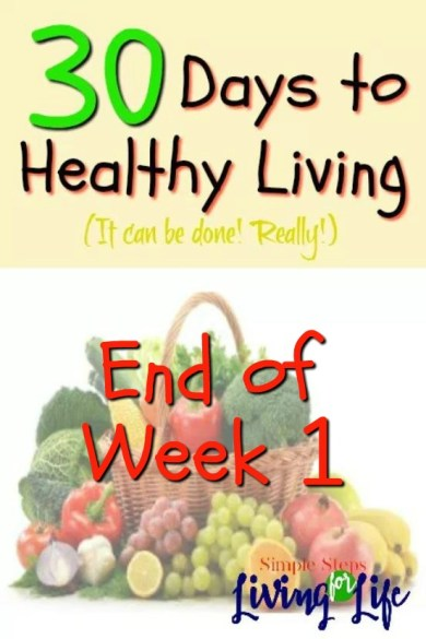 30 Days to healthy Living