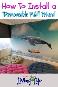 How to install a wall mural