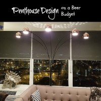 How To Decorate a Penthouse On a Beer Budget - The Living Room