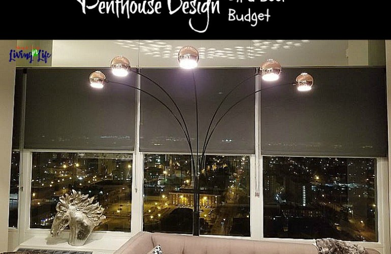 How To Decorate a Penthouse On a Beer Budget – The Living Room