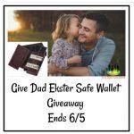 Give Dad Ekster Safe Wallet – Giveaway Ends 6/5