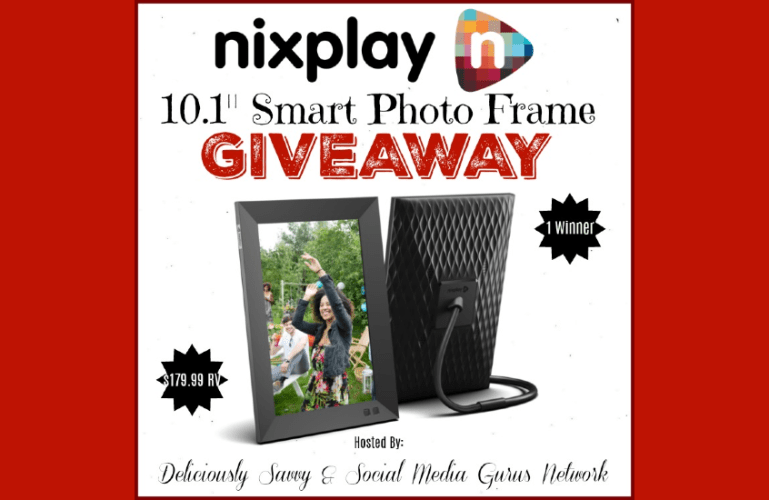 Nixplay 10.1: Smart Photo Frame Giveaway