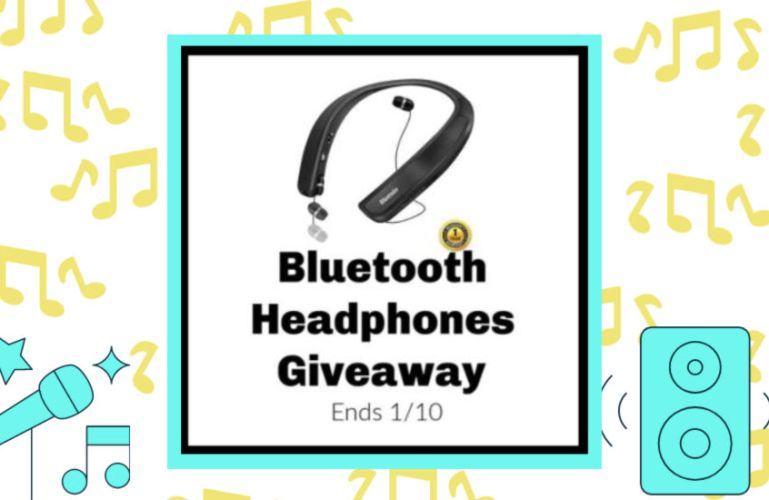 Bluetooth Headphones Giveaway Ends 1/10/2019