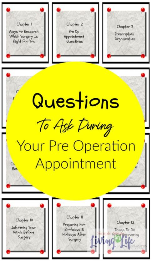 questions to ask during your pre op appointment