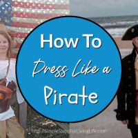 How To Dress Like a Pirate