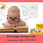 Best Baby Shower Gift Giveaway ends 3/13/2020