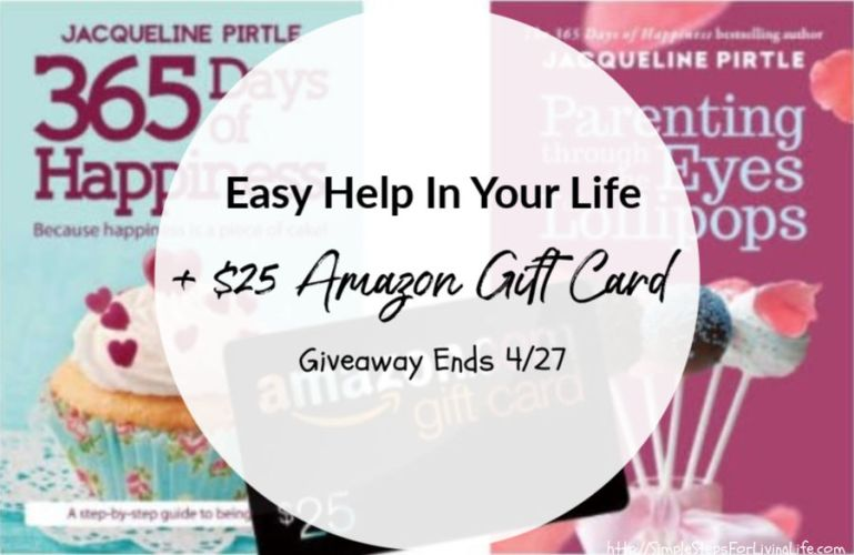 Easy Help In Your Life + $25 Amazon Gift Card Giveaway Ends 4/27