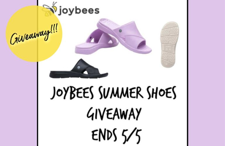 Joybees Summer Shoes Giveaway Ends 5/5