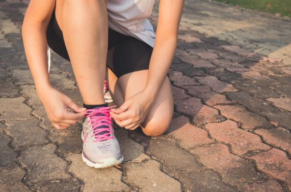 how to exercise outside without getting hurt