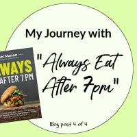 "I'M ALL IN WITH ""ALWAYS EAT AFTER 7 PM"" (POST 4 OF 4)"