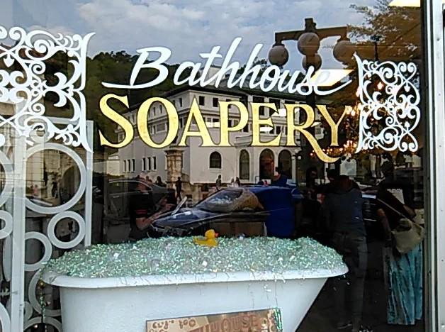 Bathhouse soapery hot springs ar