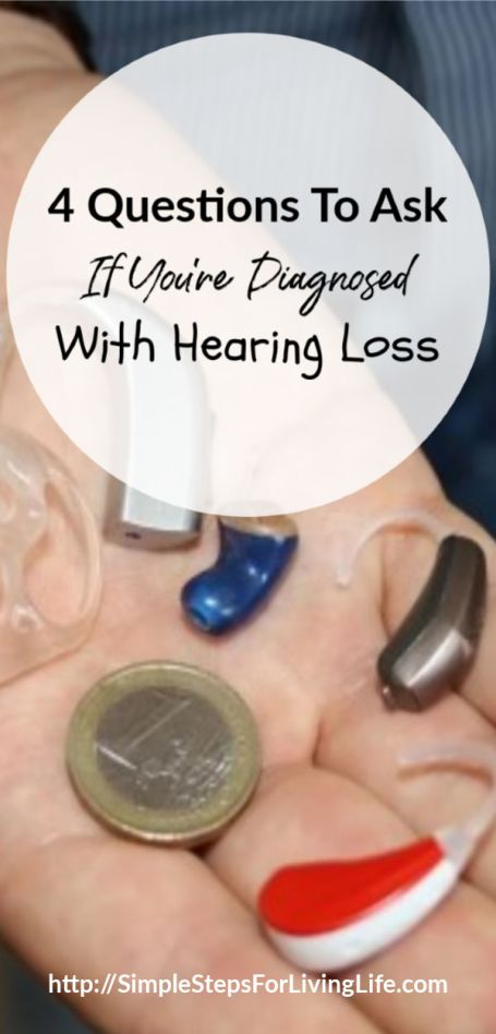 Questions to ask if you are diagnosed with hearing loss