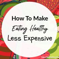 How To Make Staying Healthy Less Expensive