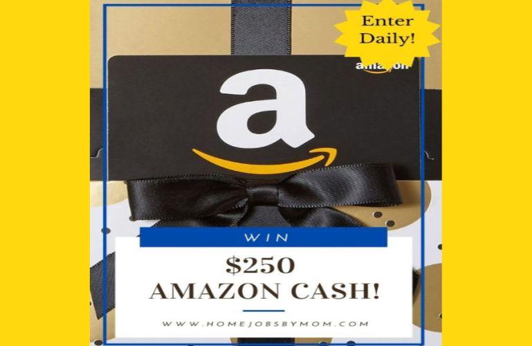 $250 Amazon Cash Giveaway (Ends 12/1)