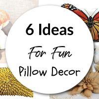6 Ideas For Fun Pillow Decor