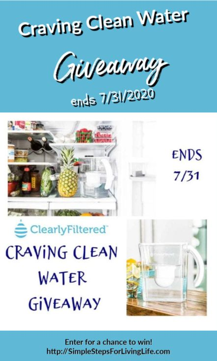 craving clean water giveaway