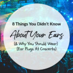 8 Things You Didn't Know About Your Ears (And Why You Should Wear Ear Plugs At Concerts)