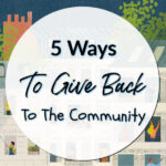 5 Ways To Give Back To The Community