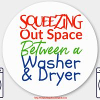 Squeezing Out Space Between a Washer and Dryer