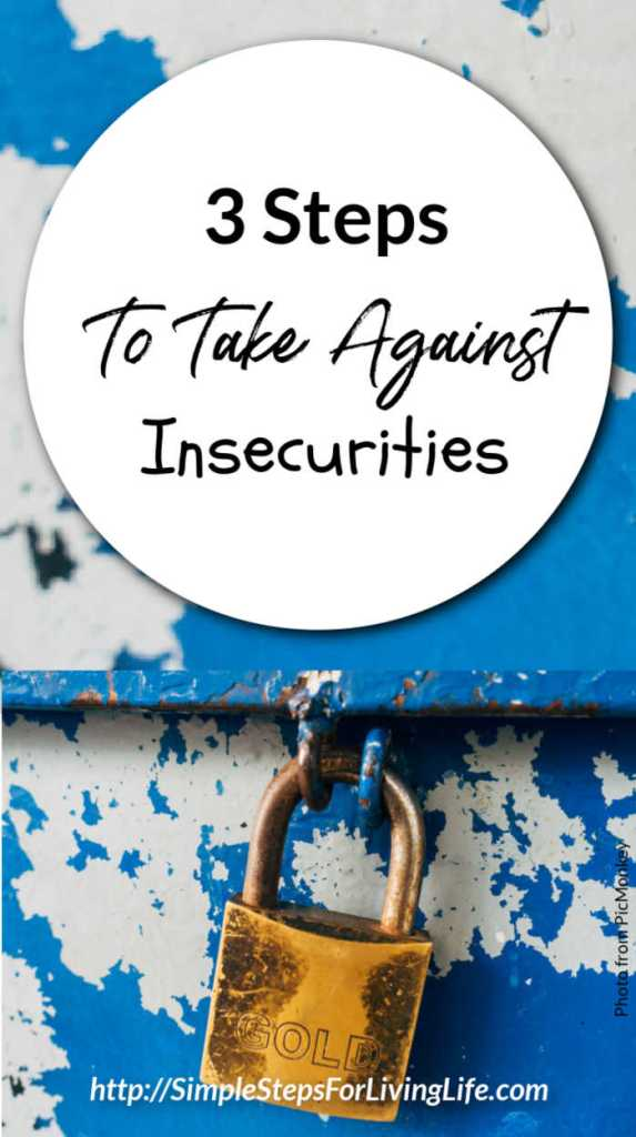 3 steps to take against insecurities