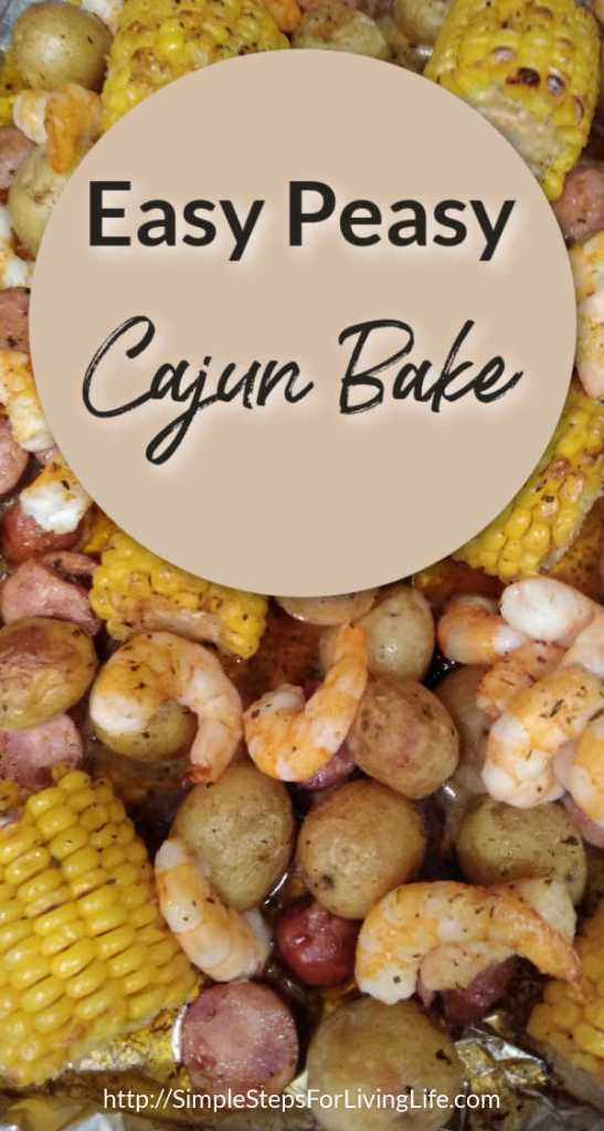 Easy Peasy Cajun Bake