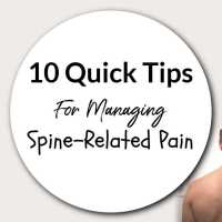 10 Quick Tips For Managing Spine-Related Pain