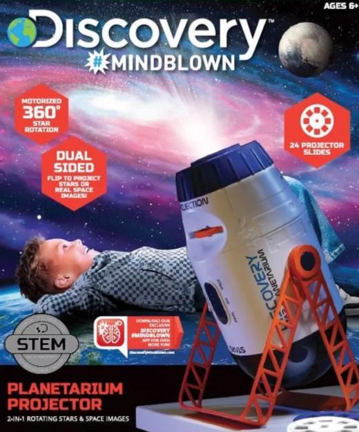 Discovery Mindblown planetarium projector