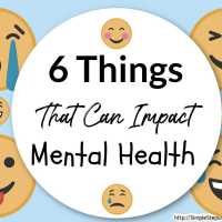 6 Things That Can Impact Mental Health