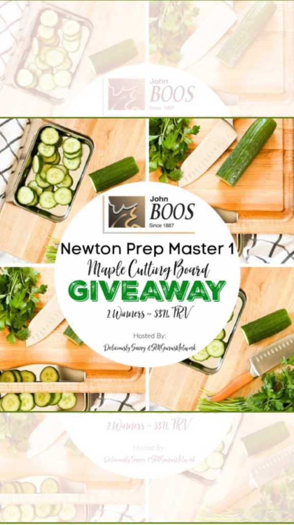 Maple Cutting Board Giveaway