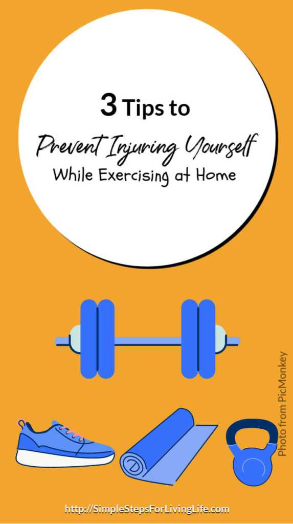 3 Tips to Prevent Injuring Yourself While Exercising at Home featured