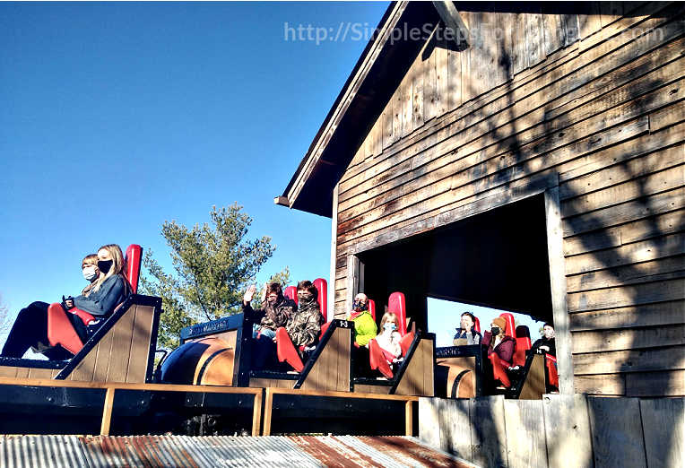 Silver Dollar City Fire rollercoaster