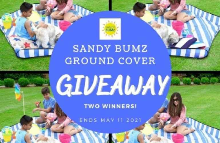 #SandyBumz Ground Cover Giveaway (Ends 5/11)