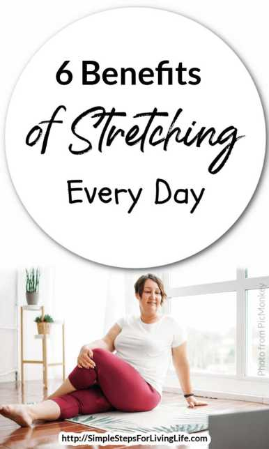 6 benefits of stretching every day