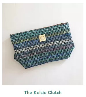 Upcycled for hope kelsie clutch