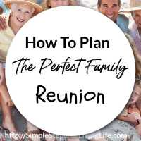 How To Plan The Perfect Family Reunion