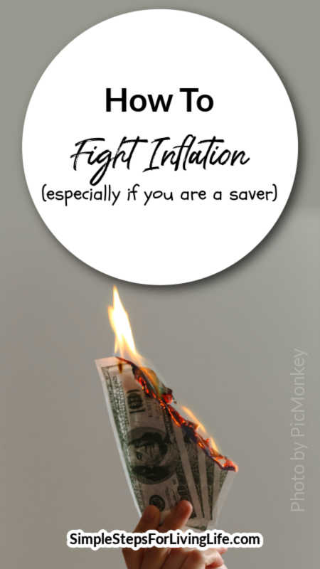 Inflation is inevitable but these days seems to be skyrocketing. If you are a saver(verses spender), then checkout this article about how to fight inflation.