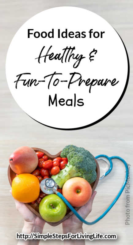 Is dinner time getting boring? Check out these simple ideas for healthy meals.