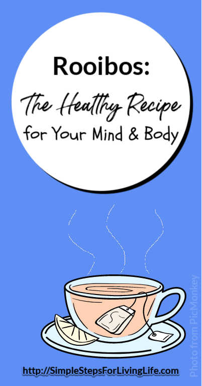 Looking for an alternative to Green Tea? Read about 10 health benefits for rooibos.