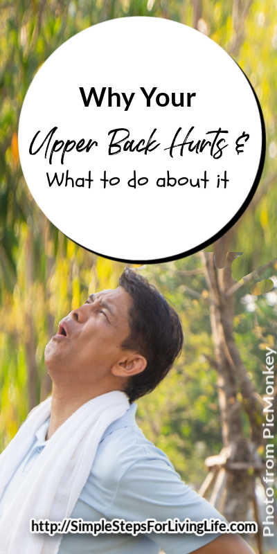 Why Your Upper Back Hurts and What to do about it