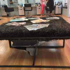 Ottoman Tables Living Room Design Your App Diy Faux Fur Coffee Table - Simple Stylings